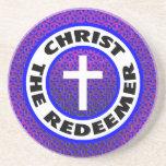 Cristo el redentor posavasos diseño