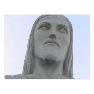Cristo el redentor postal