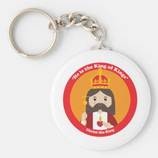 Cristo el rey llavero personalizado