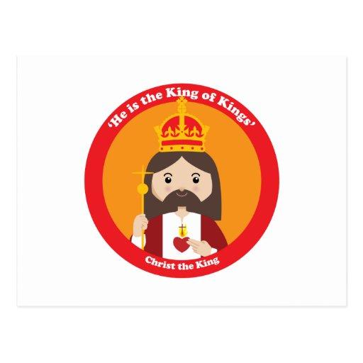 Cristo el rey postales