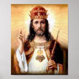 Cristo el rey póster