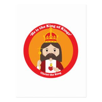 Cristo el rey postal