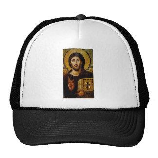Cristo el salvador gorras de camionero