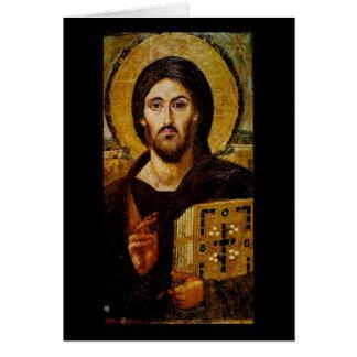 Cristo el salvador tarjetas
