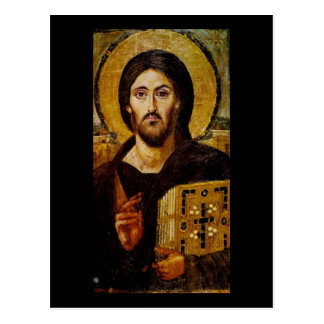 Cristo el salvador tarjeta postal
