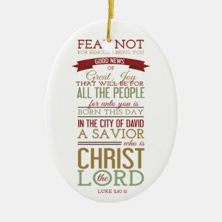 Cristo el señor adornos de navidad