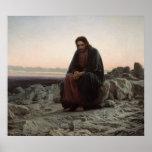 Cristo en el desierto posters