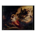 Cristo en el jardín de aceitunas, 1827 tarjeta postal