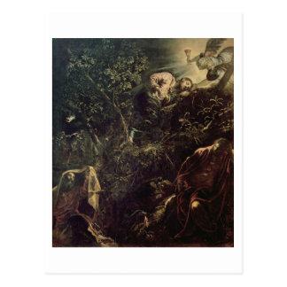 Cristo en el jardín de Gethsemane 2 Tarjetas Postales