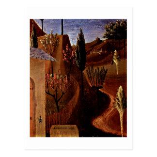 Cristo en el jardín de Gethsemane Tarjeta Postal