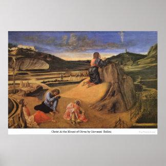 Cristo en el monte de los Olivos de Juan Bellini Impresiones