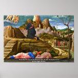 Cristo en el monte de los Olivos de Mantegna Andre Posters