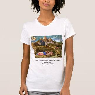 Cristo en el monte de los Olivos de Mantegna Andre Camisetas