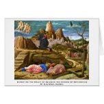 Cristo en el monte de los Olivos de Mantegna Andre Felicitacion