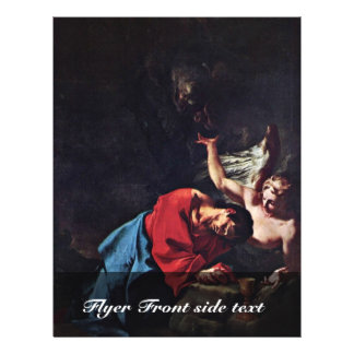 Cristo en el monte de los Olivos de Troger Paul Tarjeta Publicitaria