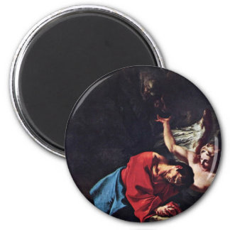 Cristo en el monte de los Olivos de Troger Paul Imán De Nevera