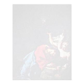 Cristo en el monte de los Olivos de Troger Paul Membretes Personalizados