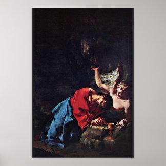 Cristo en el monte de los Olivos de Troger Paul Posters
