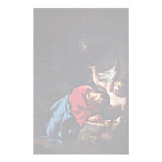 Cristo en el monte de los Olivos de Troger Paul Papeleria Personalizada