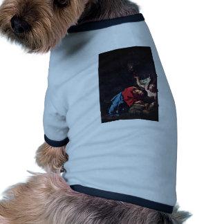 Cristo en el monte de los Olivos de Troger Paul Camisetas De Perrito