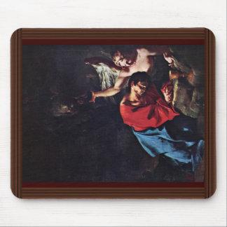 Cristo en el monte de los Olivos de Troger Paul Tapetes De Ratones