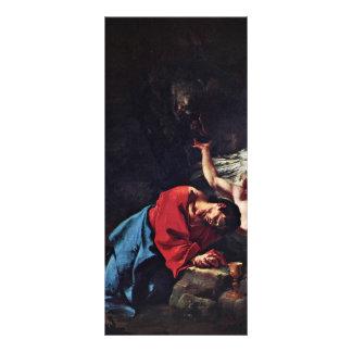 Cristo en el monte de los Olivos de Troger Paul Lonas
