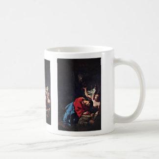 Cristo en el monte de los Olivos de Troger Paul Taza De Café