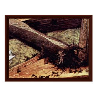 Cristo en el monte de los Olivos Tarjeta Postal