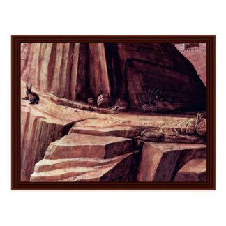 Cristo en el monte de los Olivos Tarjetas Postales