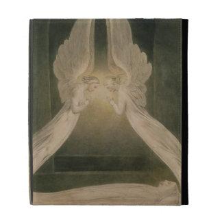 Cristo en el sepulcro, guardado por ángeles