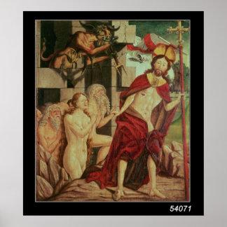 Cristo en infierno posters