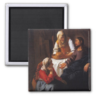 Cristo en la casa de Maria y de Martha Imán Cuadrado