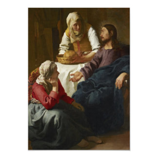 Cristo en la casa de Martha y de Maria por Vermeer Anuncios