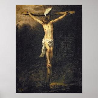 Cristo en la cruz, 1672 póster