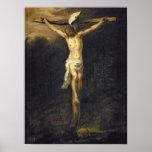 Cristo en la cruz, 1672 posters
