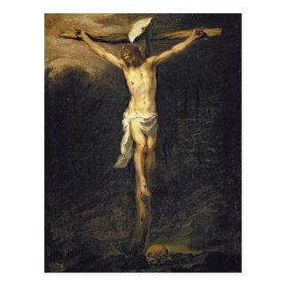 Cristo en la cruz, 1672 postal