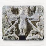 Cristo en la cruz alfombrilla de ratón