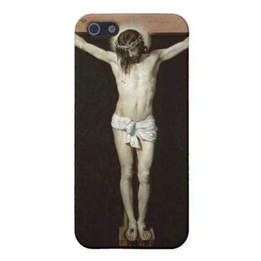 Cristo en la cruz, c.1630 iPhone 5 funda