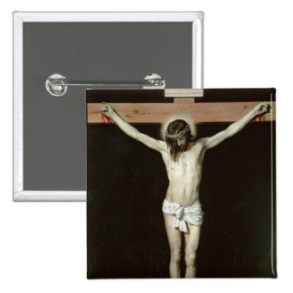 Cristo en la cruz, c.1630 pin cuadrada 5 cm