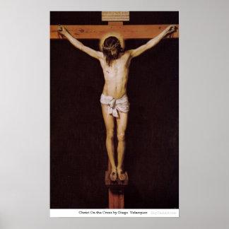 Cristo en la cruz de Diego Velázquez Posters