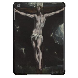 Cristo en la cruz de El Greco Funda Para iPad Air