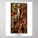 Cristo en la cruz de El Greco Impresiones