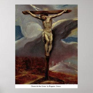 Cristo en la cruz de Eugene Greco Posters