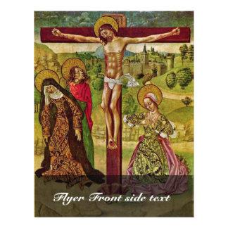 Cristo en la cruz de Meister Von Budapest (mejor Flyer A Todo Color