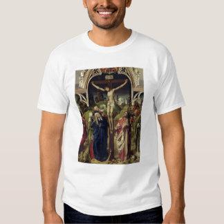 Cristo en la cruz, las mujeres santas camisas
