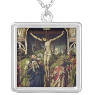 Cristo en la cruz, las mujeres santas grimpolas personalizadas