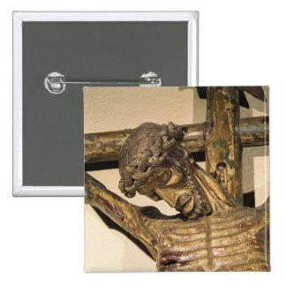 """Cristo en la cruz, llamada """"Le Devot Cristo """" Pin"""