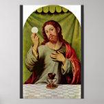 Cristo en la eucaristía de Juanes Juan De (el mejo Impresiones