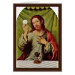 Cristo en la eucaristía de Juanes Juan De (el mejo Felicitacion