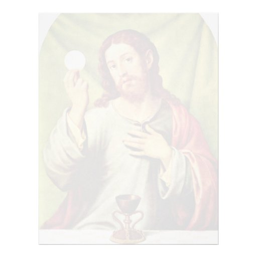 Cristo en la eucaristía de Juanes Juan De (el Plantillas De Membrete